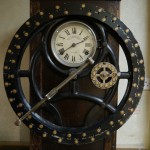 Original Time Clock From Harland & Wolff Drawing Office