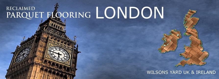 Reclaimed Parquet Flooring London