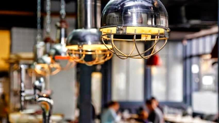 Industrial Lights - Wilsons Yard