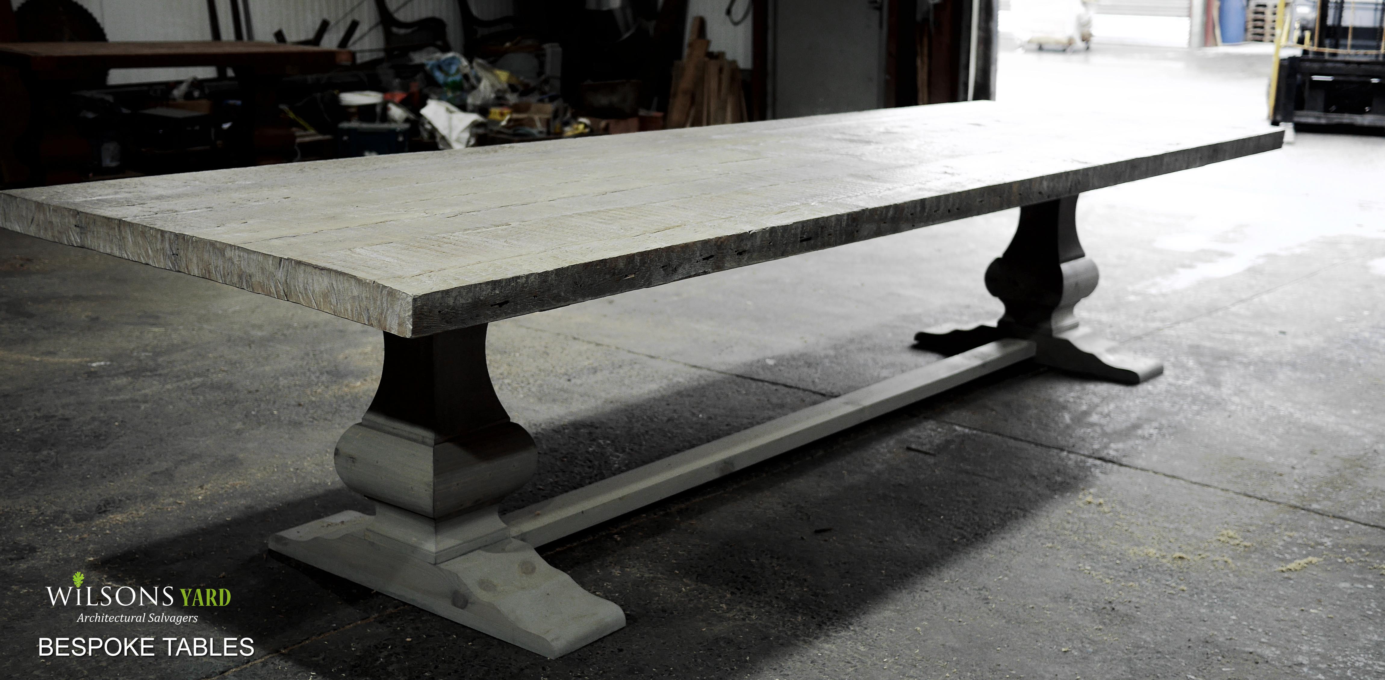 Handmade Bespoke Kitchen Tables