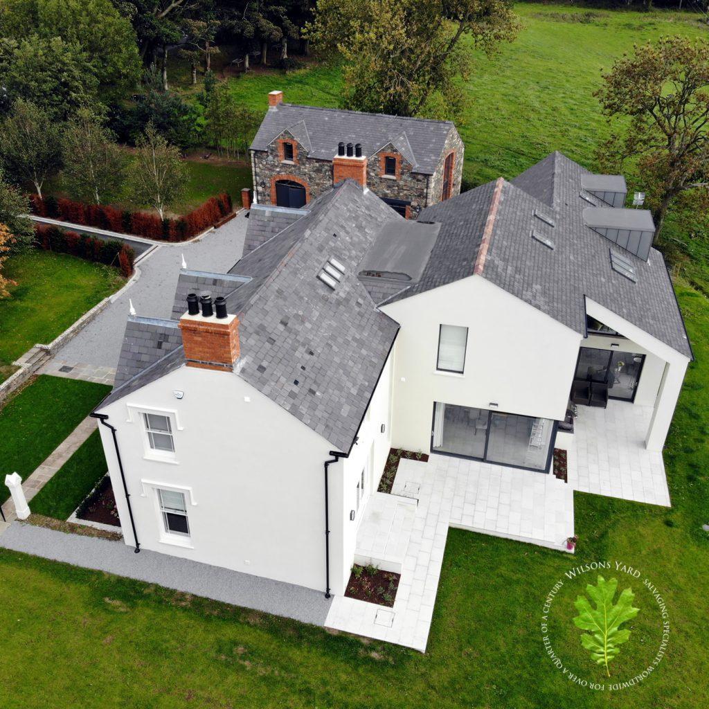 Blue Bangor Roof Slates