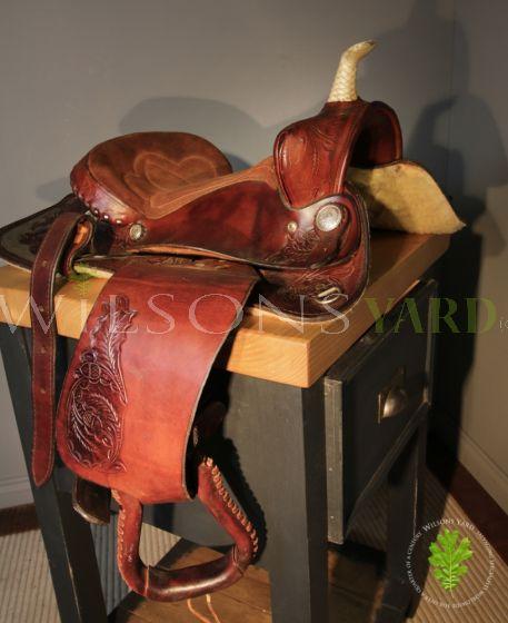Fantastic Quality American Leather Western Cowboy Saddle