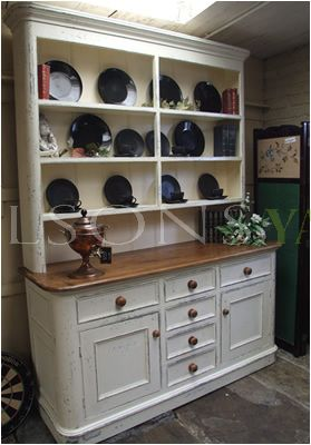 Victorian Style Hand Painted Dresser