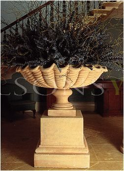 The Triton Collection - Scalloped Urn