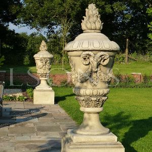 The Triton Collection - The Stratton Urn on Milton Plinth