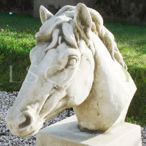 The Triton Collection - Horses Head Gate Pier Finials