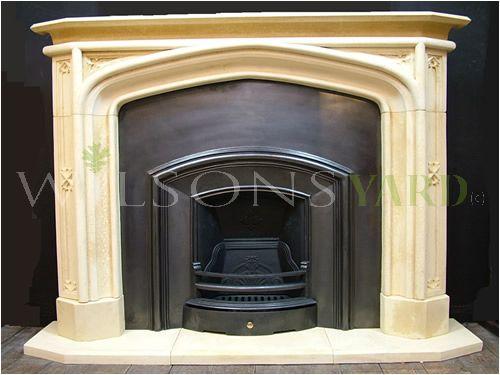 Gothic Library Chimneypiece