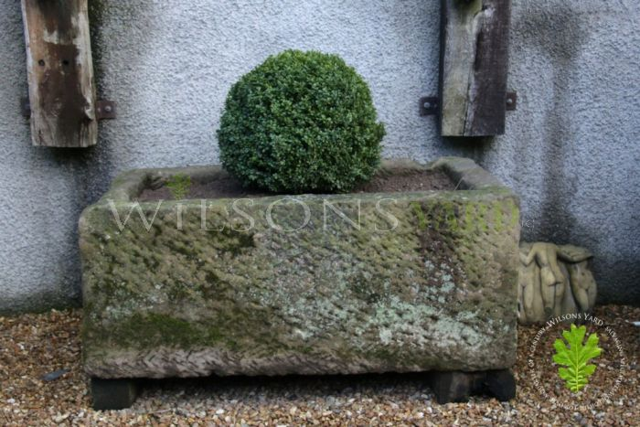 Magnificent Vintage Gritstone Horse Trough - Circa 1800