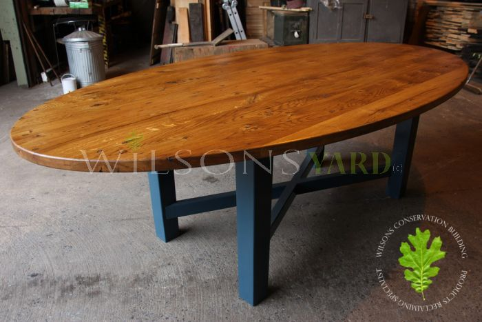 Oval Table With Solid Oak Top