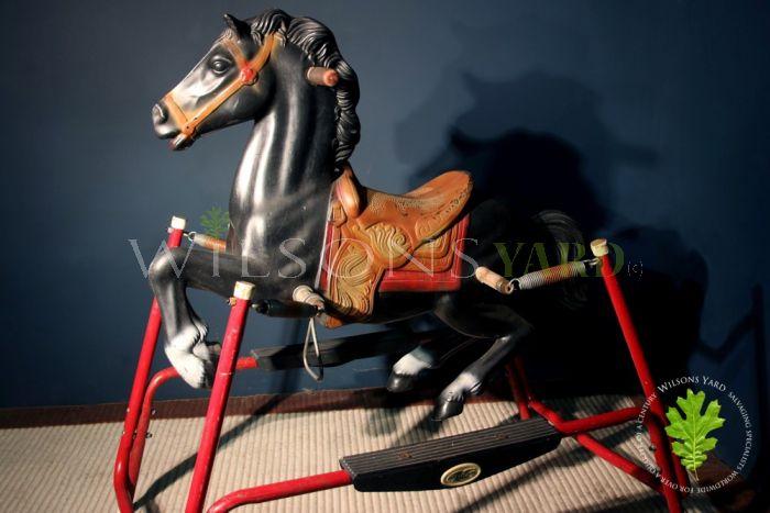 Vintage Spring Style Rocking Horse
