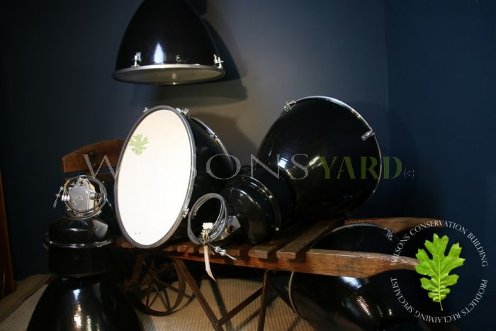 Vintage Restored Industrial Lights