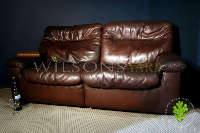 """2 Seater """"De Sede"""" Sofa"""