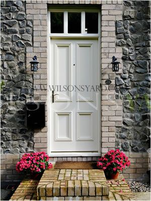 4 Panel Door with Fanlight