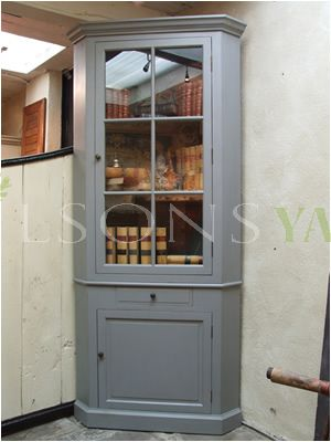 Hand Crafted Glazed Corner Unit