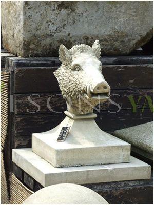 The Triton Collection - Boar Head Finials