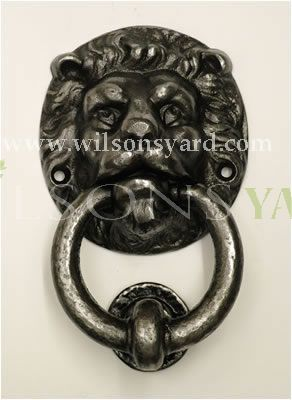 Medium Lion Cast Iron Door Knocker
