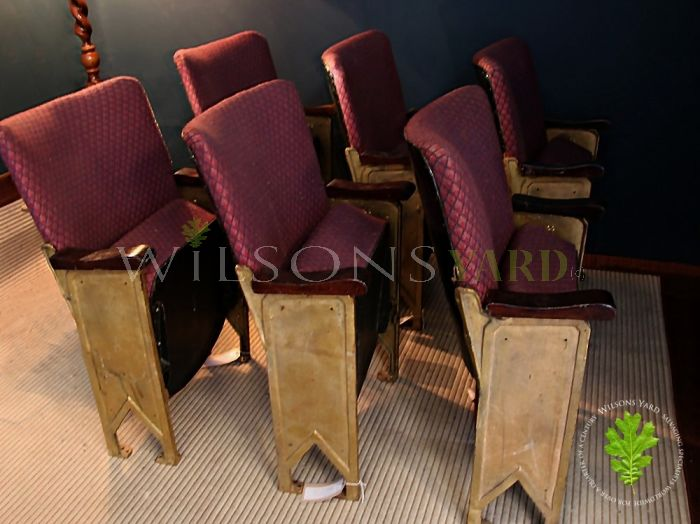 Art Deco Cinema Seats