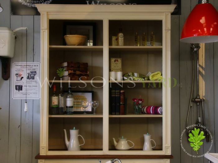 Twin Section Bookcase