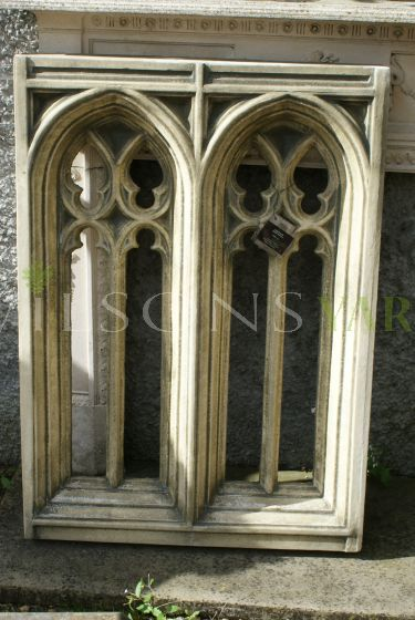 Large Double Gothic Window