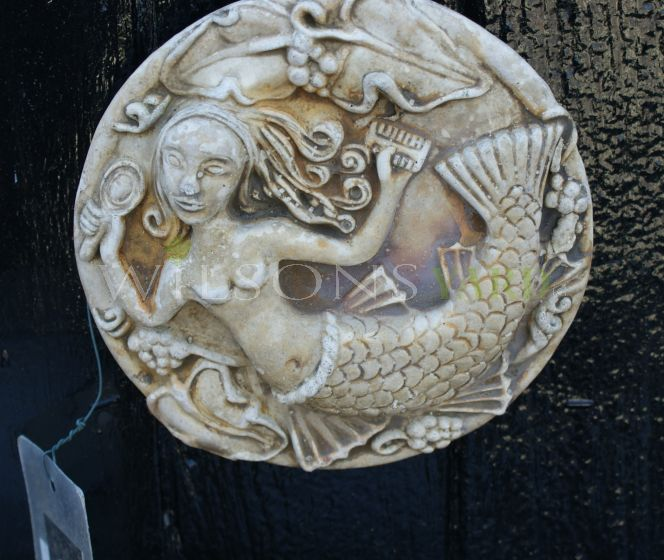 The Mermaid Plaque
