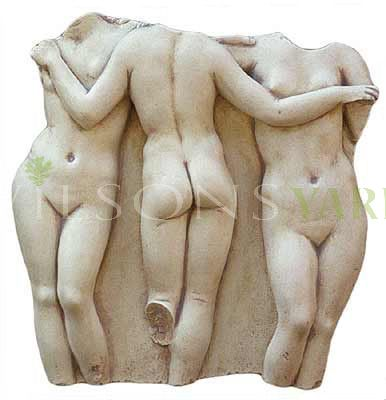3 Graces wall Plaque