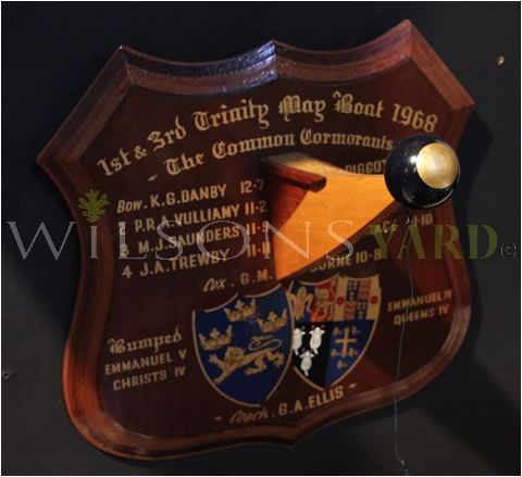Wooden Rowing Trophy