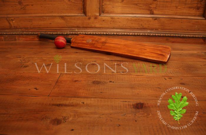 Reclaimed Oregon Pine flooring