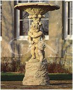 The Triton Collection - Putti Fountain or Birdbath