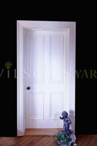 Georgian Style Four Panel Door - Bolection Mold