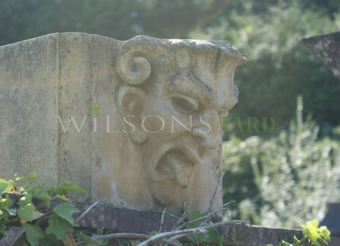 Wall Top Stone Gargoyle