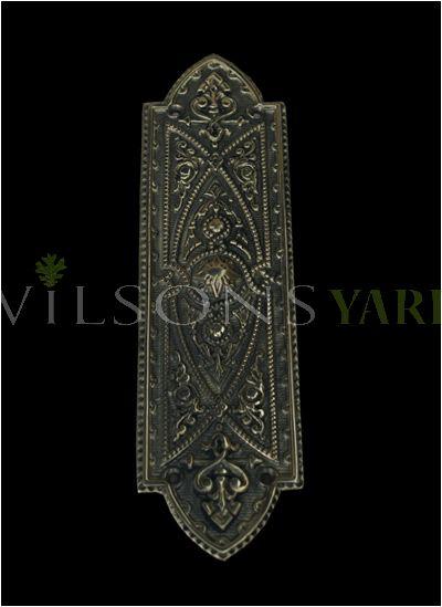 Gothic Finger Plate