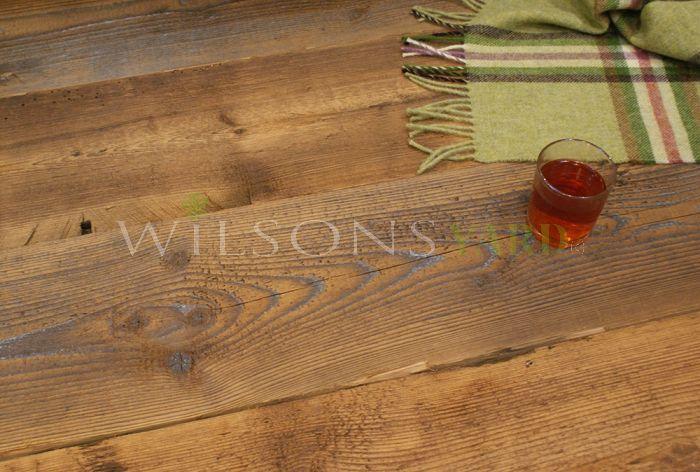 Stunning Reclaimed Contoured Pine Boarding