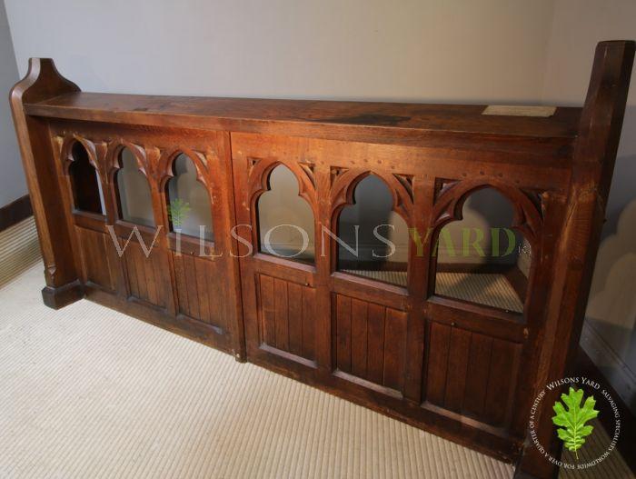 Original church furniture