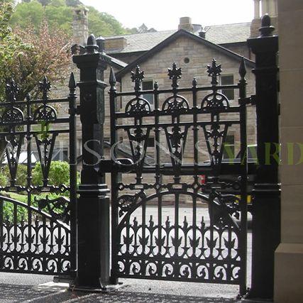 Heritage cast iron gates