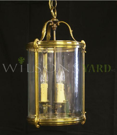 Antique hall lantern