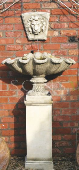 The Triton Collection - Small Scallop Shell Urn