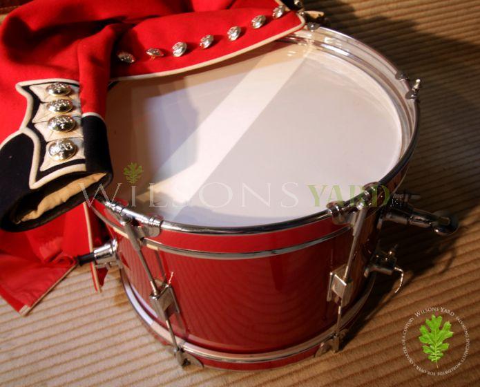 Vintage Red Side Drum