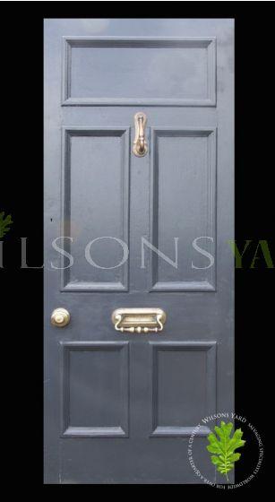 5 Panelled Original Hardwood Door