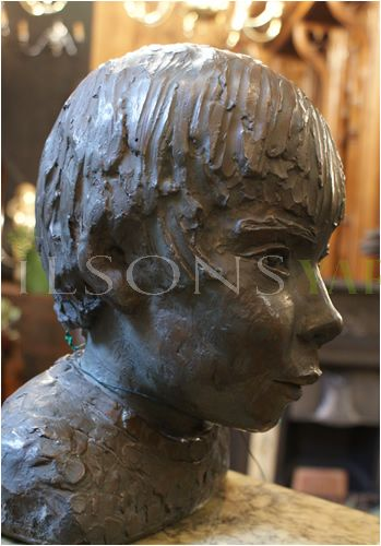 Child's Head Bust