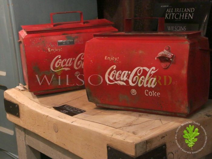 Coca Cola Cooler Boxes