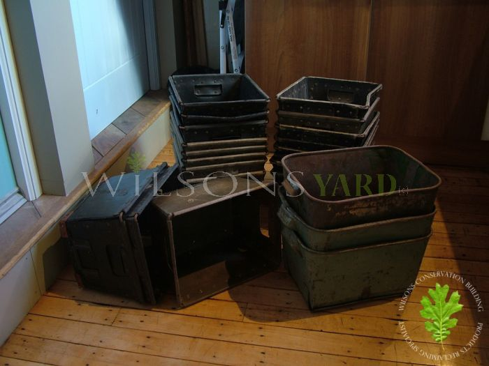 Plastic and Tin Storage Containers
