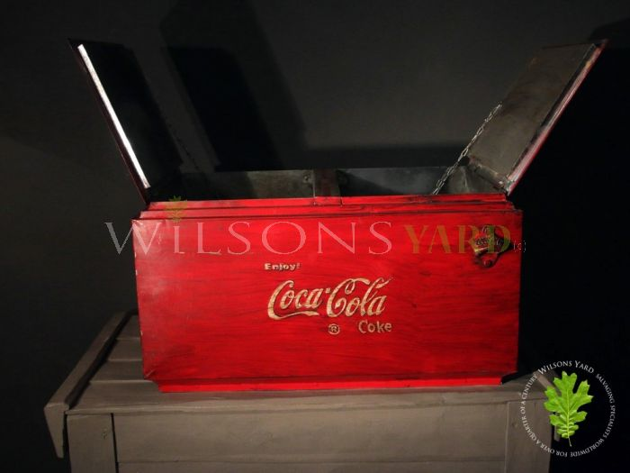 Large Coca Cola Cool Box