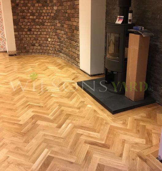 Prefinished wood block wood flooring