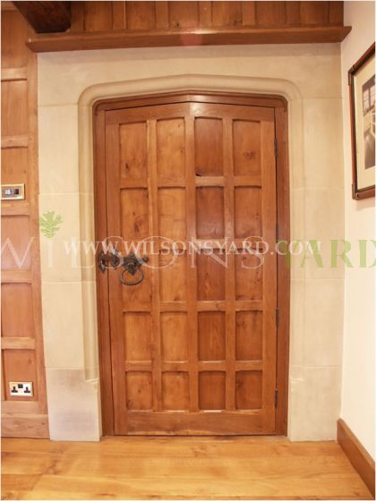 Medieval Panelled Door