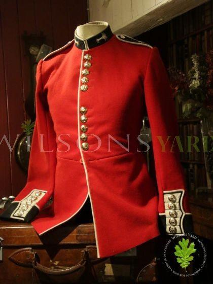 Welsh Guards Red Uniform on Mannequin
