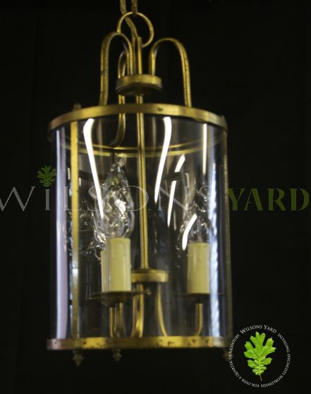 Antique hall lantern