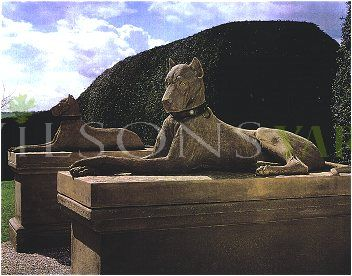 The Triton Collection - The Kingsale Hounds on Tall Plinths