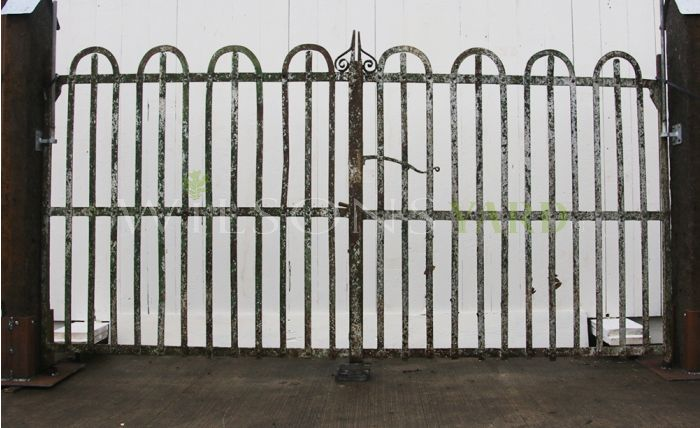 Antique estate gates