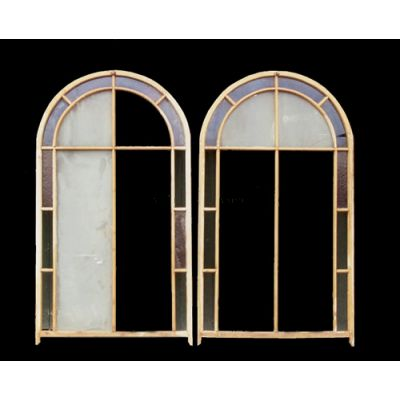 Oregan Pine Fan Windows