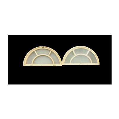 Pine Fanlight Windows